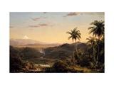 Cotopaxi Giclée par Frederic Edwin Church