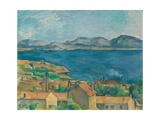 The Bay of Marseilles  Seen From L'Estaque