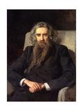 Portrait of the Philosopher Und Author Vladimir Solovyov (1853-1900)