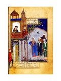 Miniature From the 'Conference of the Birds' by Attar of Nishapur
