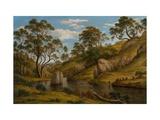 The Bath of Diana  Van Diemen's Land
