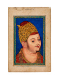 Portrait of Ibrahim Adil Shah II (1556-1627)  Sultan of Bijapur