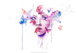 About a New Place Reproduction d'art par Agnes Cecile