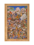 The Battle Preceding the Capture of the Fort At Bundi  Rajasthan  in 1577