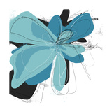 Tiffany Blue Floral Two