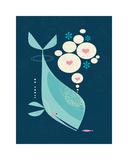 Whale has a Friend Giclée par Tracy Walker
