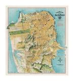 Map of San Francisco  California  1912