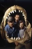 Jaws  Robert Shaw  Roy Scheider  Richard Dreyfuss  Directed by Steven Spielberg  1975