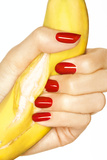 Banana and Red Nails I