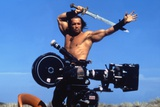 Conan the Barbarian 1982 Directed by John Milius on the Set  Arnold Schwarzenegger