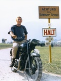 The Great Escape 1963 Directed by John Sturges Steve Mcqueen Reproduction photo