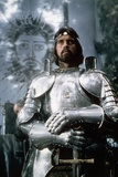 1981 - British Actor Nigel Terry as King Arthur in the 1981 Film Excalibur""