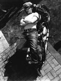 The Wild One  Marlon Brando  Directed by Laszlo Benedek  1953