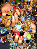 Gemstones and Nails