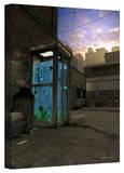 Cynthia Decker 'Phone Booth' Gallery Wrapped Canvas