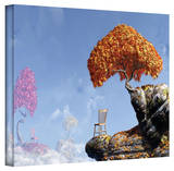 Cynthia Decker 'Leaf Peepers' Gallery Wrapped Canvas