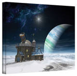 Cynthia Decker 'Observatory' Gallery Wrapped Canvas