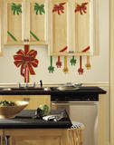 Holiday Bows Peel and Stick Giant Wall Decals