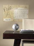 Paris Dry Erase Calendar Peel and Stick Wall Decals