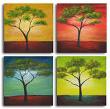 African trees in season