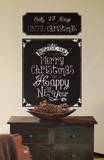 Christmas Countdown Chalkboard Peel and Stick Wall Decals