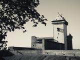 Castle on a Hill  Narva Castle  Narva  Estonia
