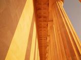 Columns Jefferson Memorial Washington DC USA
