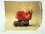 Vegetable  And  Truck