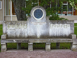 Musical Bench Dedicated To Russian Composer Tchaikovsky  Haapsalu  Estonia