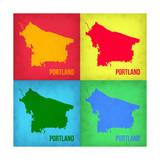 Portland Pop Art Map 1