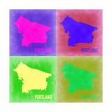 Portland Pop Art Map 2