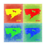 Detroit Pop Art Map 2