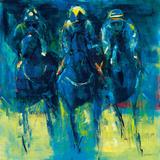 Racehorses - Blue