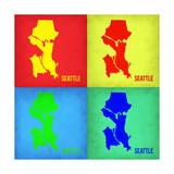 Seattle Pop Art Map 1