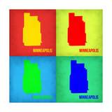 Minneapolis Pop Art Map 1