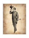 Vintage Victorian Man