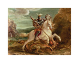 St George Slaying The Dragon