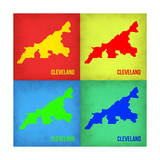 Cleveland Pop Art Map 1