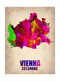Vienna Watercolor Poster