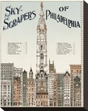 Skyscrapers of Philadelphia  c 1898