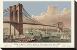 The Great East River Suspension Bridge  1877