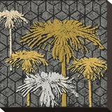 Dandelion on Tumbling Blocks (Yellow)