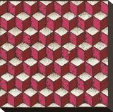 Tumbling Blocks (Red)