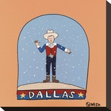 Dallas Snow Globe