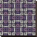 Large Knotted Weave (Purple)