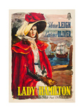 THAT HAMILTON WOMAN  Vivien Leigh on Italian poster art  1941