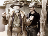 MY DARLING CLEMENTINE  from left: Walter Brennan  Henry Fonda  1946