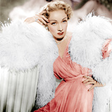 STAGE FRIGHT  Marlene Dietrich wearing a Christian Dior design  1950