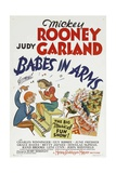 BABES IN ARMS  from left: Mickey Rooney  Judy Garland  1939