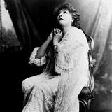Sarah Bernhardt (1844-1923)  undated portrait